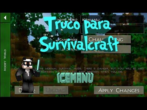 TRUCO o TRAMPA  SURVIVALCRAFT en español 1.27    | tutorial |