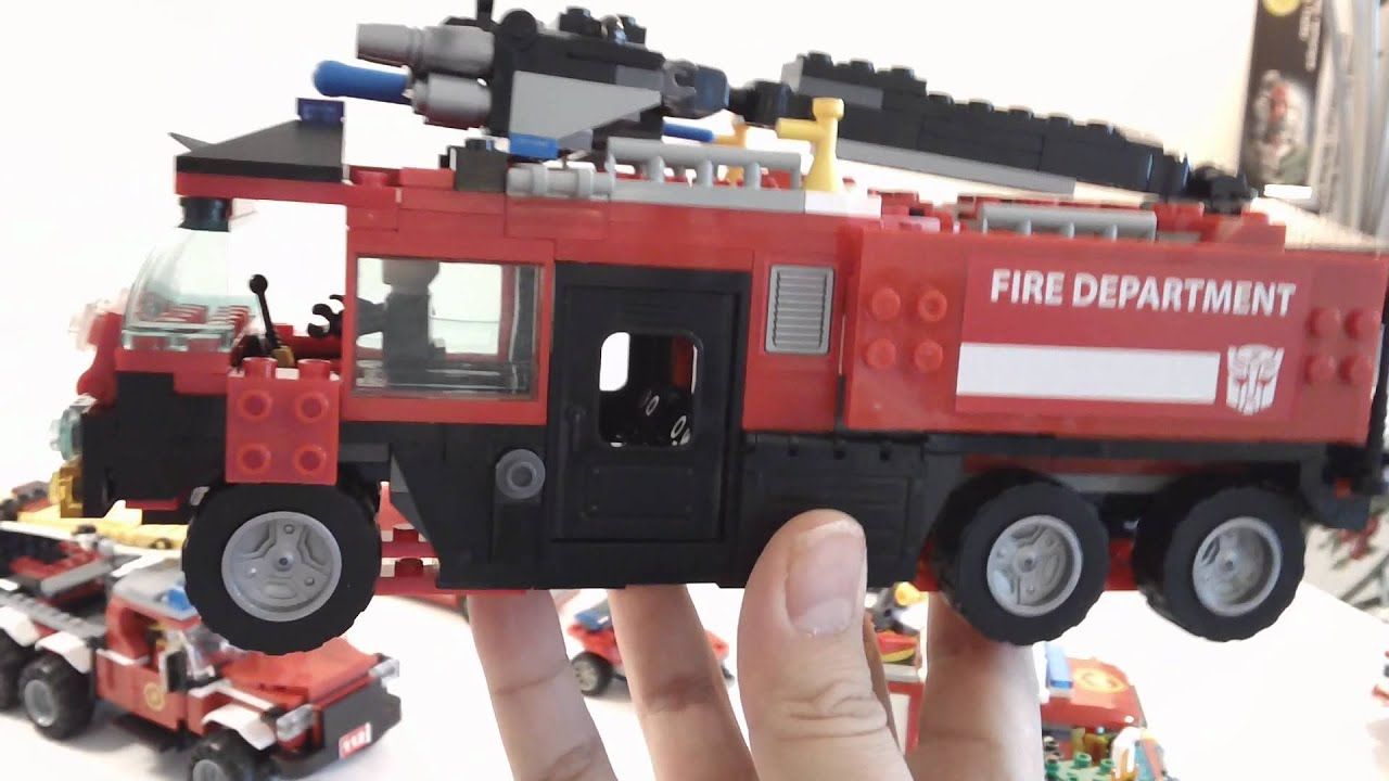 Hd Lego And Others Fire Truck Collection And Review