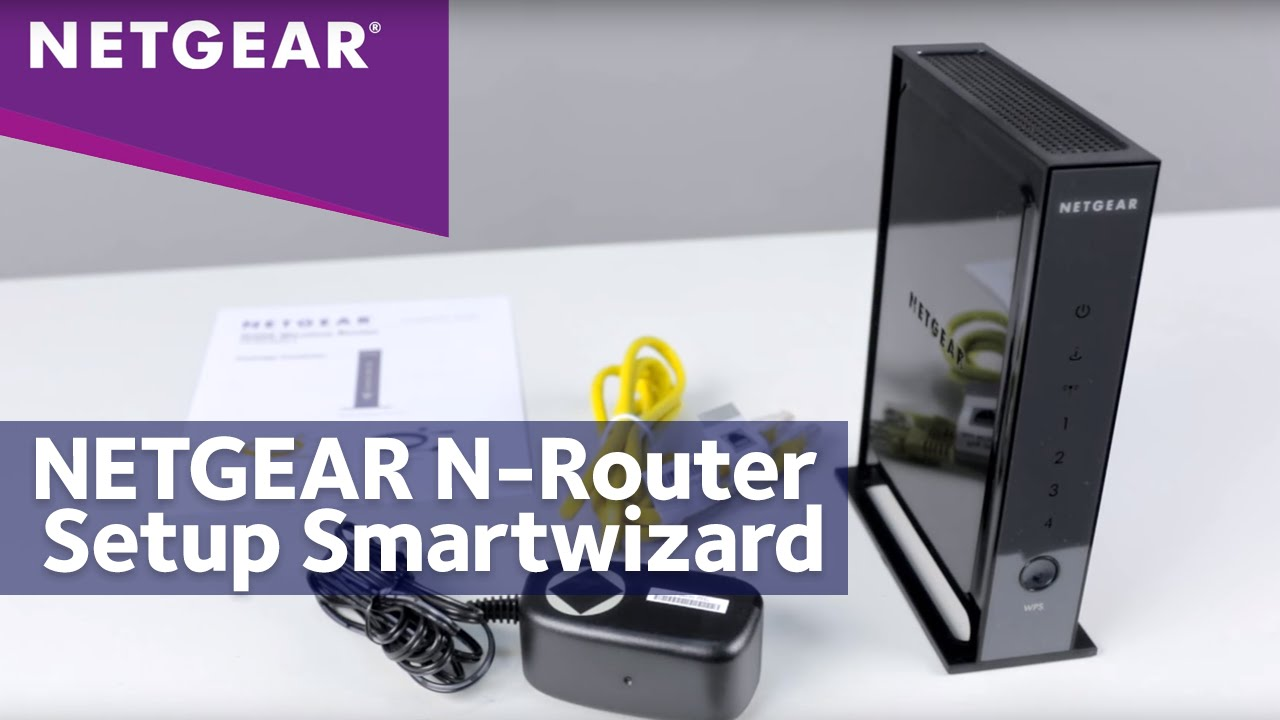 how to configure your netgear router for cable internet connection with smart wizard answer netgear support [ 1280 x 720 Pixel ]