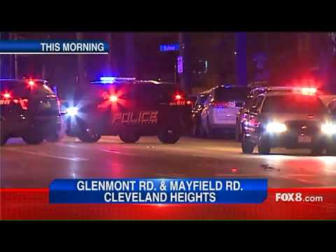 Cleveland Heights police investigate shooting and crash