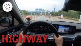 기아 K5 2.0 중부내륙고속도로 1인칭 주행영상