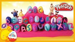 Apprend l'alphabet et les chiffres