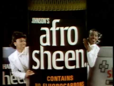 black advertisements afro sheen ad 7 youtube