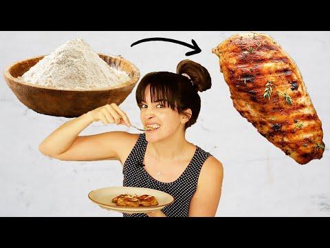 I Tried Making The Viral TikTok Vegan Chicken From Flour