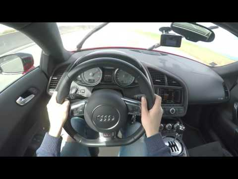 Audi R8 V8 Supercharged 0-315kph