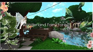 Wonderland Fairy Forest + vOice reveal | hvneycomb | ROBLOX | Welcome to Bloxburg