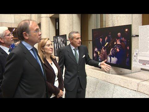 Europa Press inaugura su exposición en el Senado