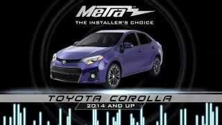 Metra Toyota Corolla dash kits 95 and 99-8245CHG