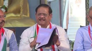 Session 1- Speech By Speaker-Moderator-Dr  Chandrakant Pandav at 5th World Parliament