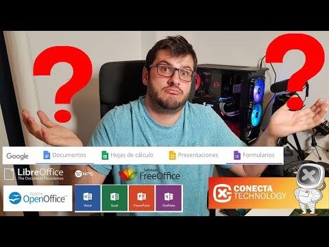 Alternativas A Microsoft Office En 2018