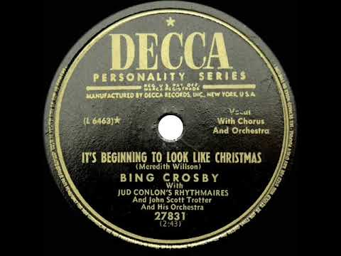 Download 1951 Bing Crosby - It's Beginning To Look A Lot Like Christmas