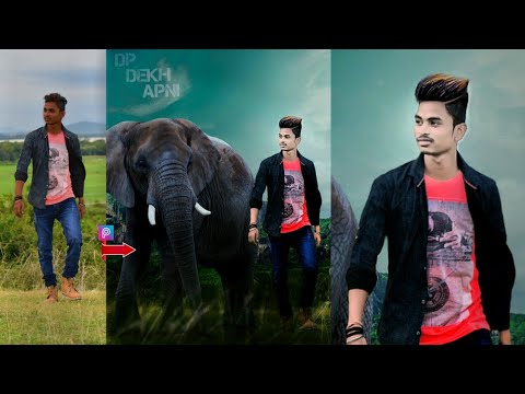 Best Editing In PicsArt Background Change Hairstyle Change - Hair style change photo effect