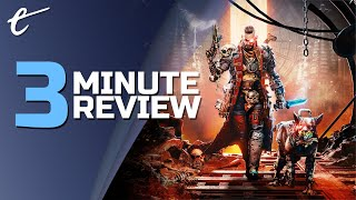 Necromunda: Hired Gun | Review in 3 Minutes (Video Game Video Review)
