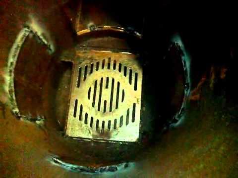 Печка из трубы 500мм