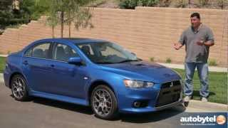 2012 Mitsubishi Lancer Evolution X Test Drive & Sports Sedan Car Video Review