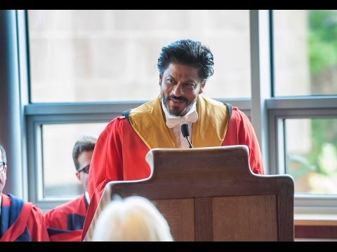 #SRK [ @iamsrk ]'s FULL Speech at Edinburgh University: Life Lessons With Russian Sub