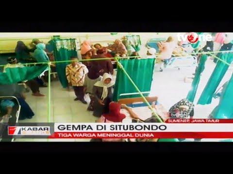 Gempa 6,0 SR Mengguncang Situbondo, Jatim