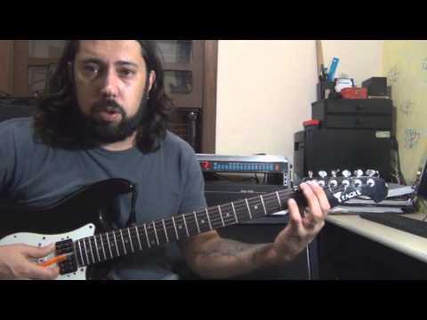 como achar as notas na guitarra( mais facil impossivel) guitarra iniciante