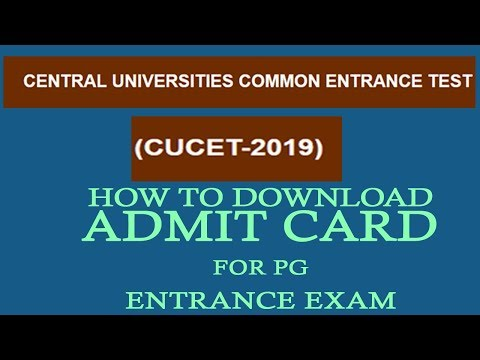 how-to-download-cucet-2019-admit-card-2019