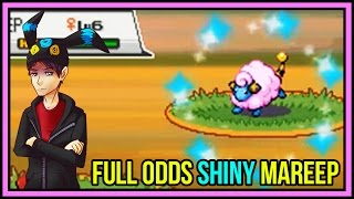 full odds shiny mareep in 447 encounters say what pokemon heartgold soulsilver