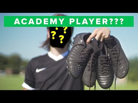 Nike Academy Pack Play Test - All Nike Football boots in complete blackout!