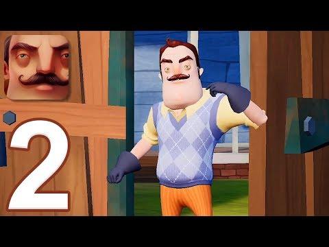 Hello Neighbor - Gameplay Walkthrough Part 2 - Act 2 (iOS, Android)