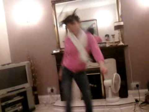 laura dancing hehe