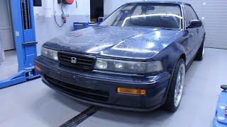 Honda Vigor.  Задний привод.  #1