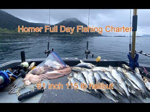 Full Day Combo Fishing Charter In Homer, Alaska With Maverick Charters