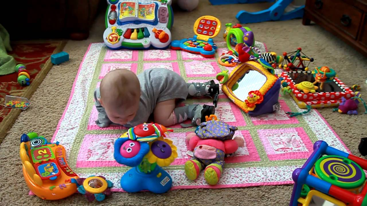 Baby With Spina Bifida Is Mobile Youtube
