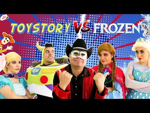 Frozen 2 VS Toy Story 4   Manito Y Maskarin