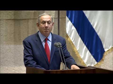נאום ראש הממשלה נתניהו בפתיחת מושב החורף של הכנסת