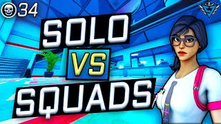 Did This Glitch *RUIN* My 34 Kill Game?! | Fortnite Solo vs Squad