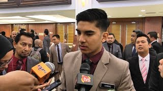 Syed Saddiq on SST, first debate session