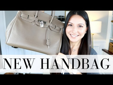 NEW HANDBAG - Reveal + First Impressions | LuxMommy