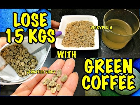Green Coffee Lose 15kg In A Month With Green Coffee Green