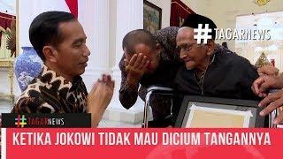 Download Video Ketika Jokowi Tidak Mau Dicium Tangannya Oleh Nyak Sandang MP3 3GP MP4