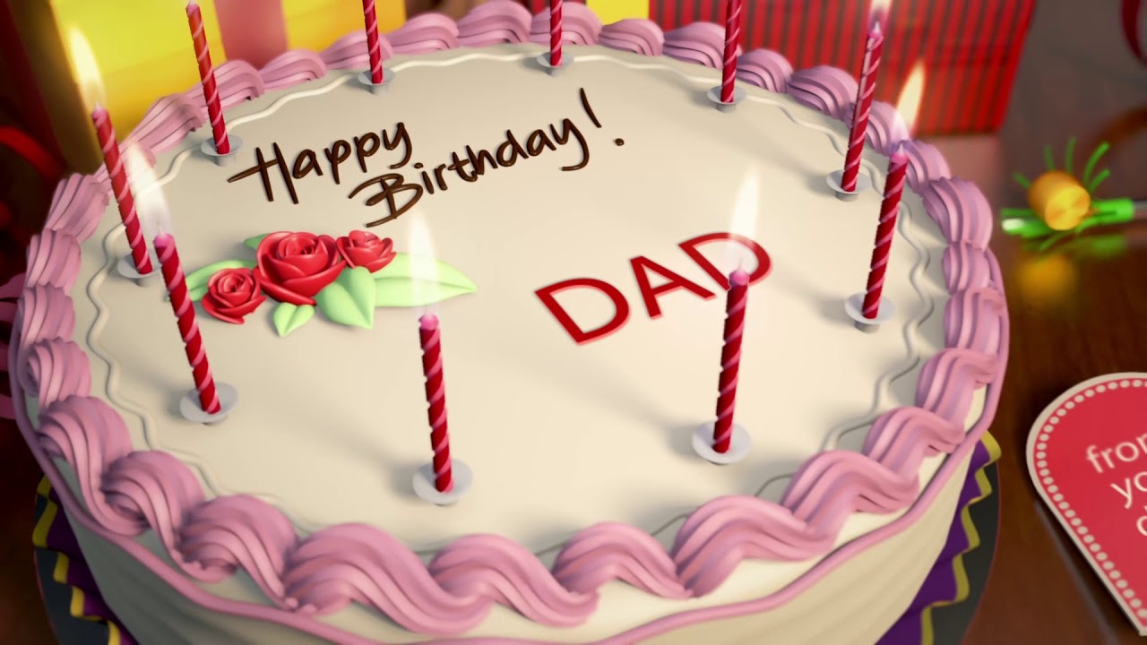 Happy Birthday Wish For DAD From Daughter