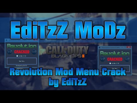 [BO2/PS3] Revolution Mod Menu Cracked (Free Download)