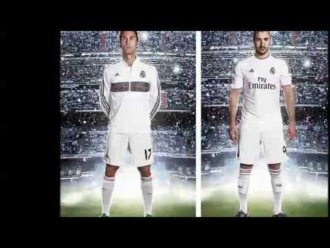 REAL MADRID KIT HOME 2013 2014