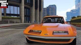 GTA Online. Тест драйв INVETERO COQUETTE CLASSIC(классический спорткар)