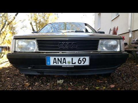 The Ultimate 5 Cylinder Sound Video - Audi 100 Typ 44 2.3 10V  incl 0-100