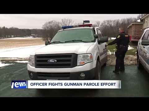 Canal Fulton police officer, who was shot in the line of duty, fights to keep gunman behind bars