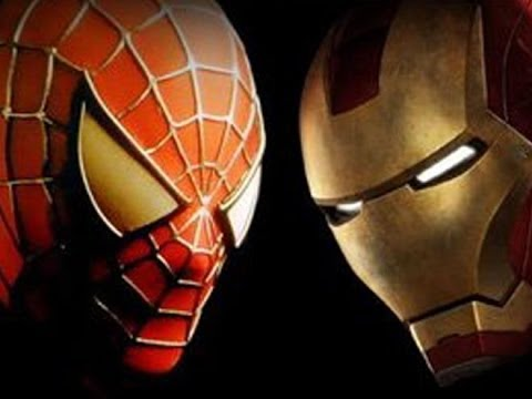 Image result for ironman and spiderman