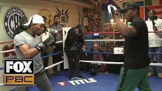 Shawn Porter says he's been working on his power | PBC ON FOX