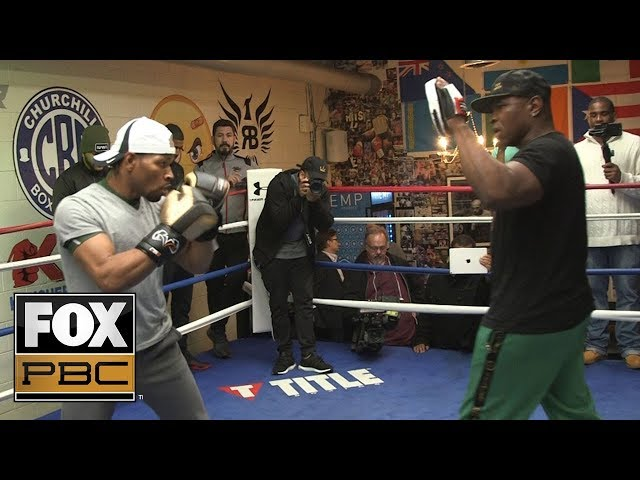 Shawn Porter says hes been working on his power | PBC ON FOX