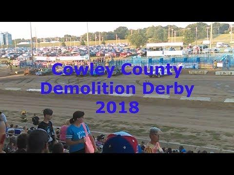 Cowley County Kansas Demolition Derby 2018