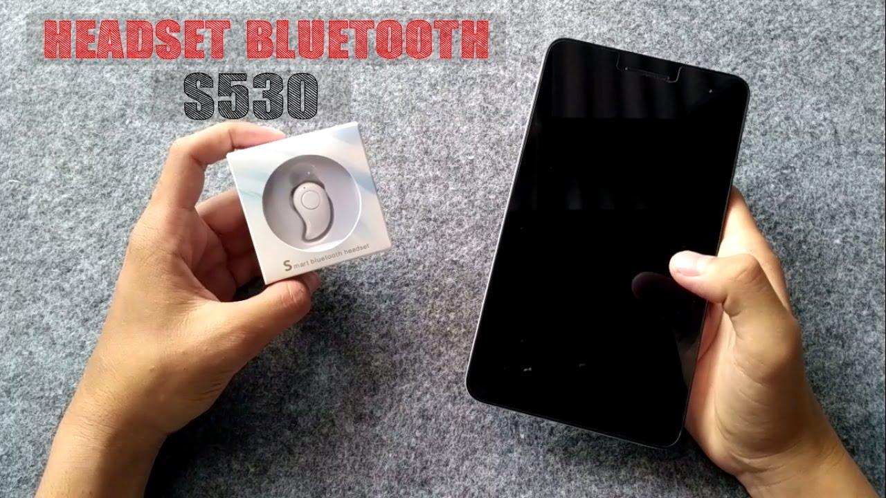 Headset Mini Kualitas Oke S530 Tutorial Tips Trik Youtube