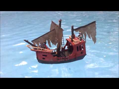 Playmobil Ghost Pirate Ships (A Pirate's Halloween Special)