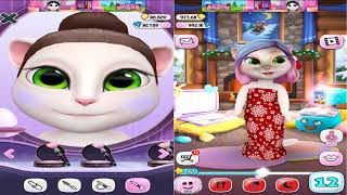 My Talking Angela Baby vs My Talking Angela Adult Great makeup # 84 Android Gameplay